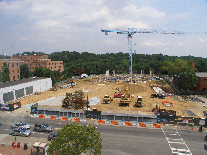 Social Safeway construction cam | Hyperlocal Glover Park
