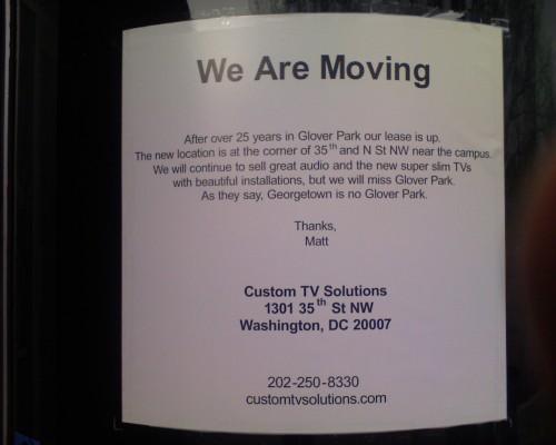 Custom TV Solutions Goodbye