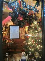 Old Europe Christmas interior