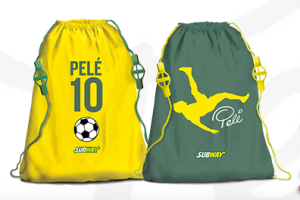 Subway Pele backpacks