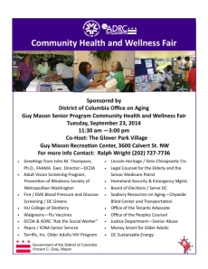 Health Fair Flier