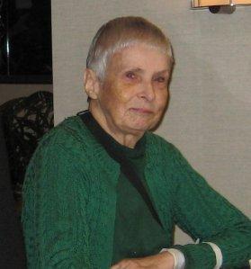 Margaret Ruth Dickie, 1935 - 2015